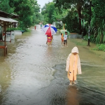Hujan Lebat, Desa Kandang Banjir